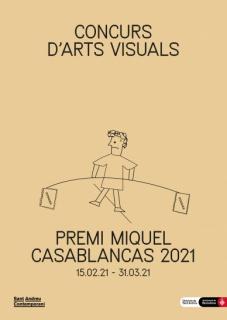 Concurs d'Arts Visuals Premi Miquel Casablancas 2021