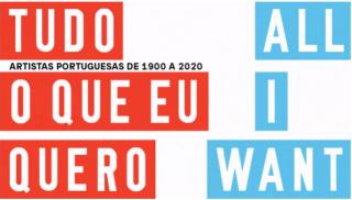 6 de maio, 2018, en Tudo o que eu quero. Artistas Portuguesas de 1900 a 2020, Fundação Calouste Gulbenkian, Lisboa. Foto: António Jorge Silva — Cortesía de la Fundação Calouste Gulbenkian