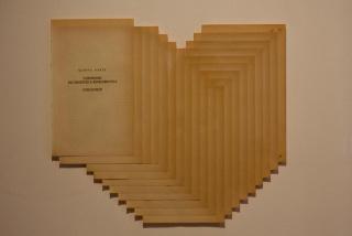 Juan Antonio Cerezuela. El silencio de Saussure, pieza 2, 2019 — Cortesía de 13 ESPACIOarte