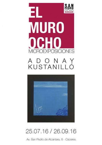 cartel Adonay - El Muro Ocho