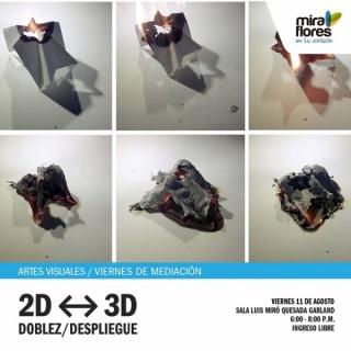 2D - 3D DOBLEZ / DESPLIEGUE