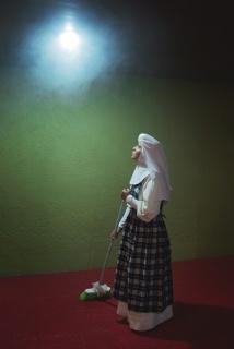 Marcela Taboada, Ora et labora, Agustinas, Tecamachalco, México, 2013. Cortesía de la artista