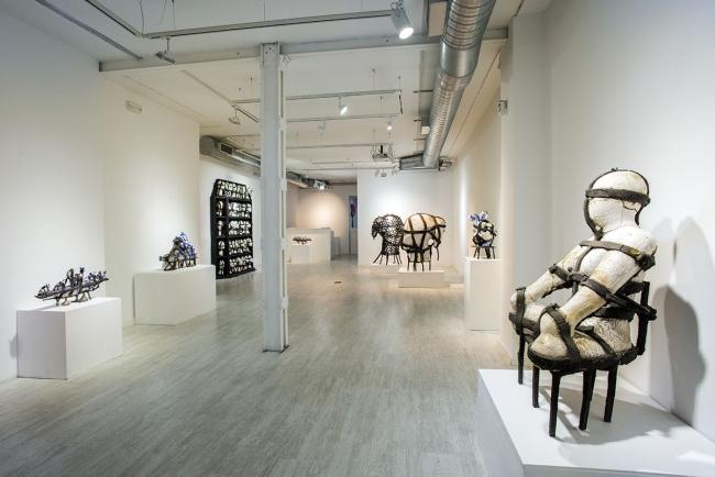 Vista de la exposición – Imagen cortesía de Proyecto H Contemporáneo