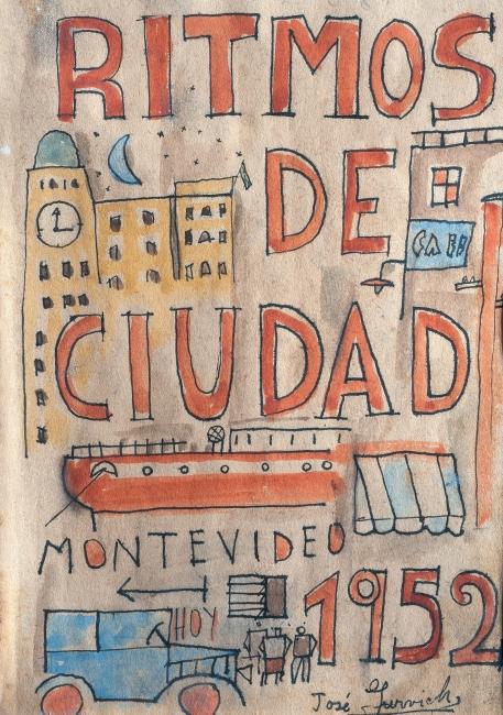Ritmos de ciudad. Imagen cortesía Museo de Uruguay
