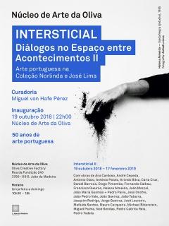Intersticial. Diálogos no Espaço entre Acontecimientos II. Arte portuguesa na Coleçao Norlinda e José Lima