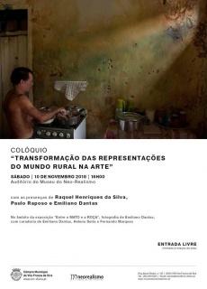 """Colóquio """"Transformação das representações do mundo rural na arte"""""""