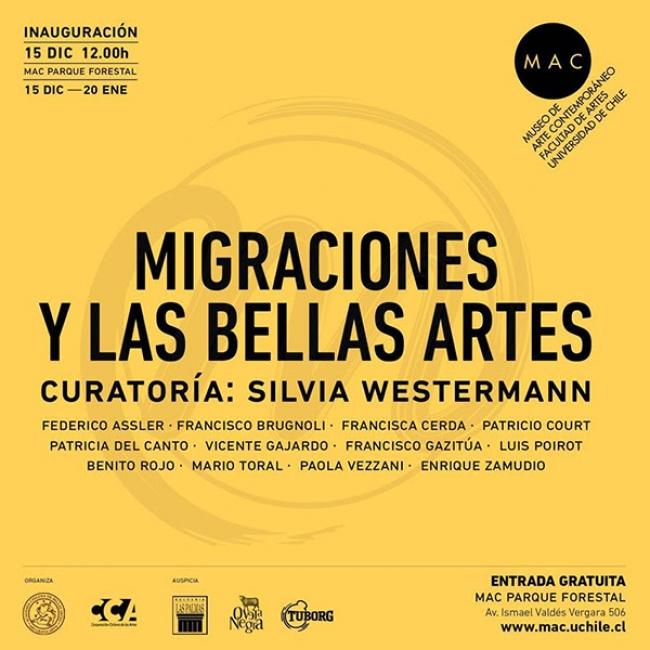 Migraciones y las Bellas Artes. Imagen cortesía Academia Chile de Bellas Artes