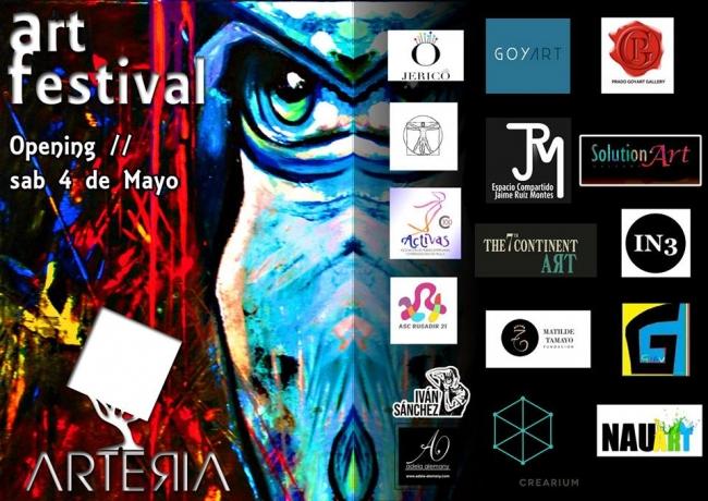 Flyer Arteria Art Festival