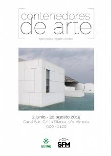 Cartel de la exposición Contenedores de Arte