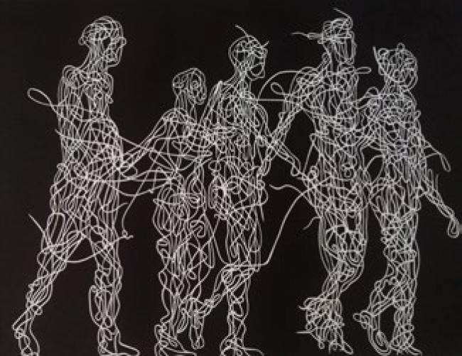 Francesca Poza, Anonymous cami — Cortesía del Gremi de Galeries d'Art de Catalunya