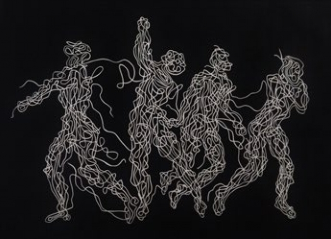 Francesca Poza, Anonymous danza — Cortesía del Gremi de Galeries d'Art de Catalunya