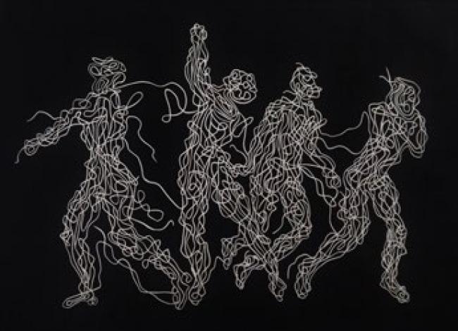 Anonymous danza — Cortesía del Gremi de Galeries d'Art de Catalunya