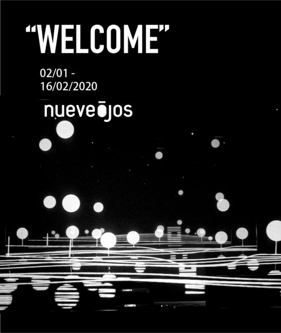 """Fotograma extraído de la instalación Multilayer """"Welcome"""" © Para la imagen, nueveojos — Cortesía del Museo Würth La Rioja"""