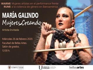 Conferencia María Galindo
