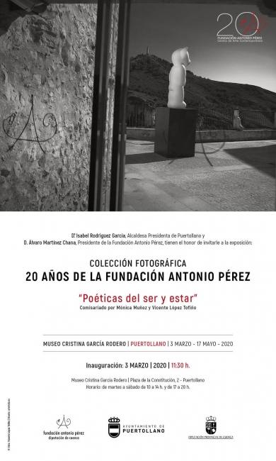 Colección fotográfica. 20 años de la Fundación Antonio Pérez