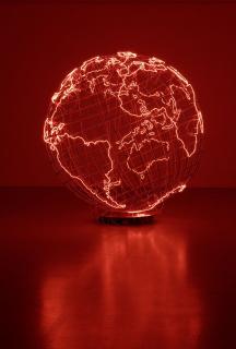 Mona Hatoum, Hot Spot III, 2009. Colección de la artista — Cortesía del IVAM