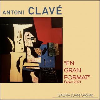 Antoni Clavé. En gran format