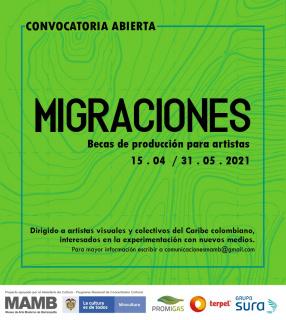Convocatoria Migraciones MAMB