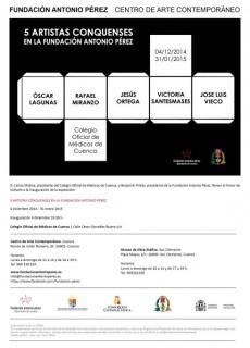 5 artistas conquenses en la Fundación Antonio Pérez