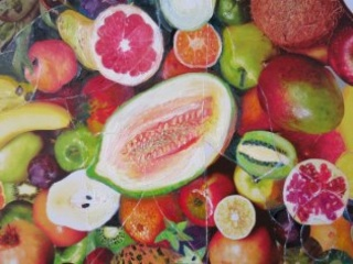 Mike Swaney. Painter in fruit\'s clothing (detalle)