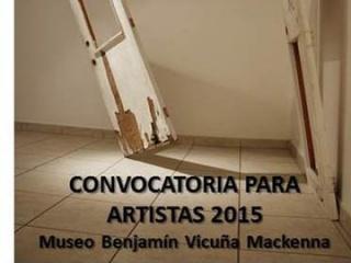 Convocatoria para artistas 2015 - Museo Benjamín Vicuña Mackenna