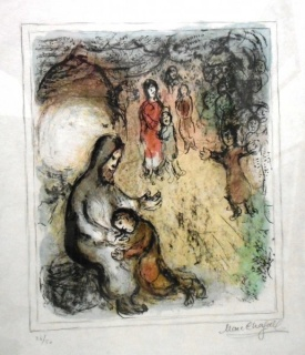 Exposición de grabados Marc Chagall