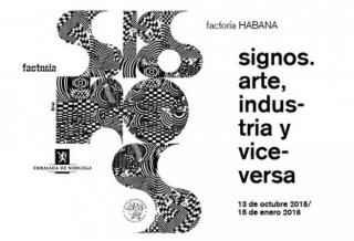 Cartel de la exposición. Cortesía Factoría Habana
