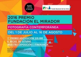 2016 Premio Fundación El Mirador de Fotografía Contemporánea