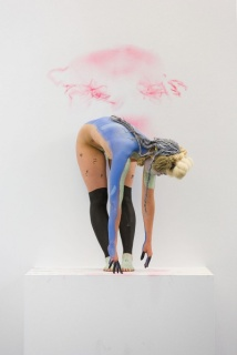 Donna Huanca y Przemek Pyszscek. Muscle Memory. Installation view. June 27 - August 8, 2015 Peres Projects, Berlín. Courtesy Peres Projects