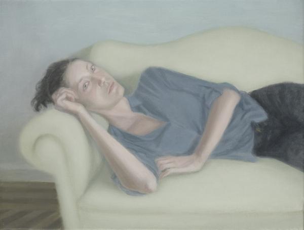 Juan Fernández Álava, Kela. 2016. óleo/lienzo. 35x46cm.