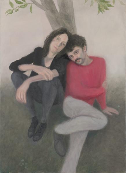 Juan Fernández Álava, WhoMAN. 2017. óleo/lienzo. 100x73cm.