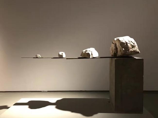 Liao Fei, Straight Line Extended, 2015  – Cortesía del Museu Nacional d'Art de Catalunya