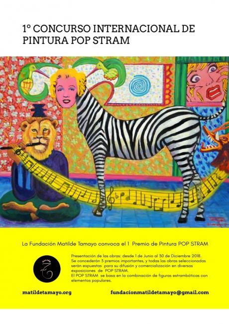 1º Premio de Pintura Pop Stram