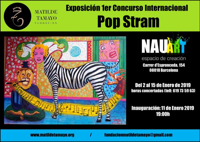 Exposición Concurso Internacional de Pop Stram en Nauart del 2 al 15 de enero de 2019
