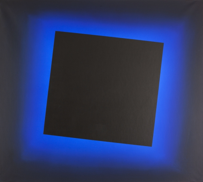 José María Yturralde, Eclipse Azul, 2013 — Cortesía de Comunicación de arte y cultura