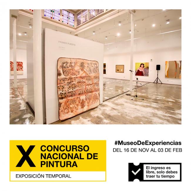 X Concurso Nacional de Pintura 2018