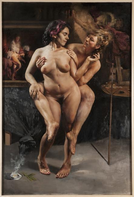 Pedro del Toro, El Nudo — Cortesía del Museo Europeo de Arte Moderno (MEAM)