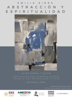 Emilia Sirrs: abstracción y espiritualidad