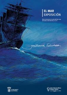 Cartel exposición El Mar, de José Ramón Sánchez