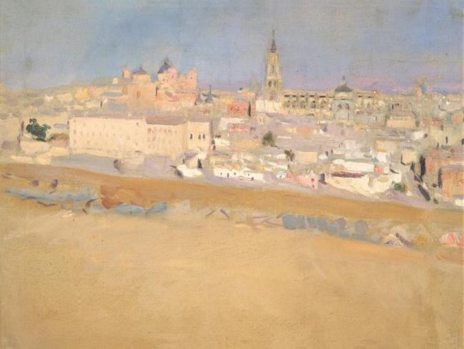Joaqui?n Sorolla - Vista de Toledo