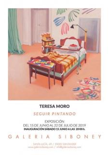 Teresa Moro. Seguir pintando