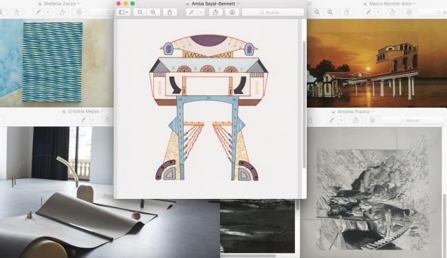 Espacio, luz y orden — Cortesía de la galería JosédelaFuente