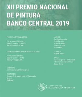 XII Premio Nacional de Pintura Banco Central 2019