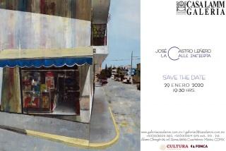 José Castro Leñero. La Calle Incierta — Cortesía de la Galería Casa Lamm