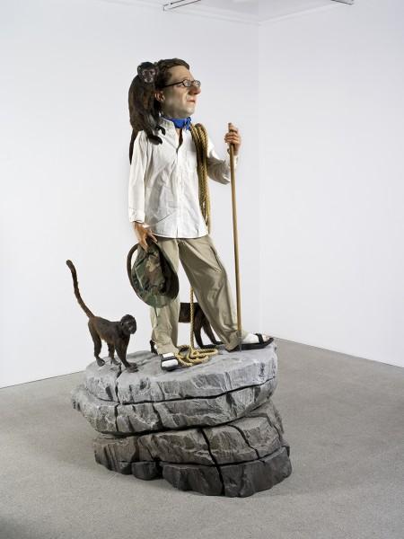 Tony Matelli, The Wanderer, 2002, mixta