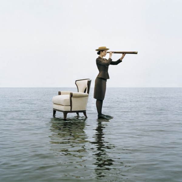 Rodney Smith, Zoe With Spyglass, Sherwood Island, Connecticut