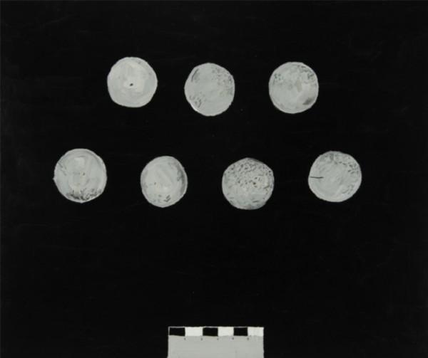 Christian Vinck, Huesos, diademas o lunas
