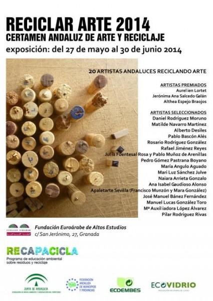 II Certamen RECICLAR ARTE 2014.