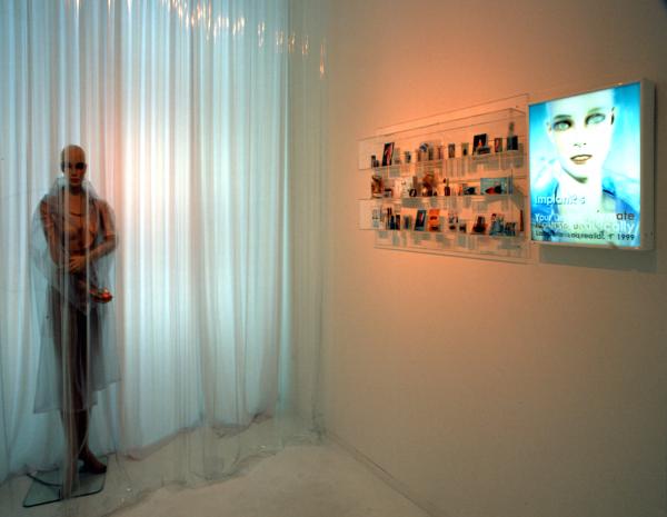 """Paloma Navares, Serie \""""Milenia, del corazón y el artificio\"""". 1997 – 1999"""