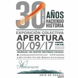 """Apertura de nuestra exposición colectiva """"30 AÑOS HACIENDO HISTORIA"""""""
